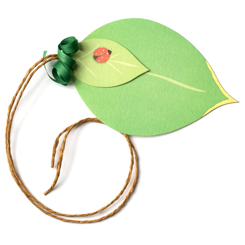 Leaf Pretty Gift Tag