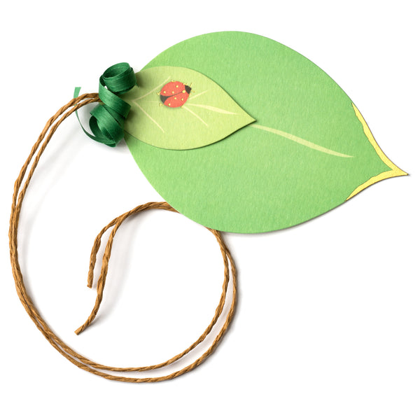 Leaf Pretty Gift Tag-1