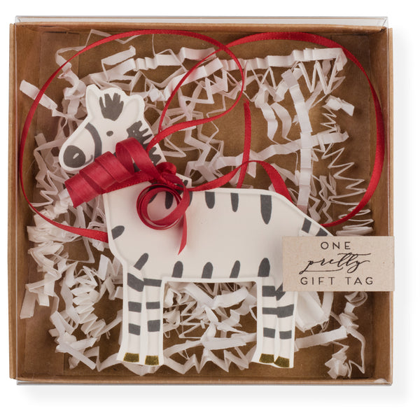 Zebra Pretty Gift Tag-2