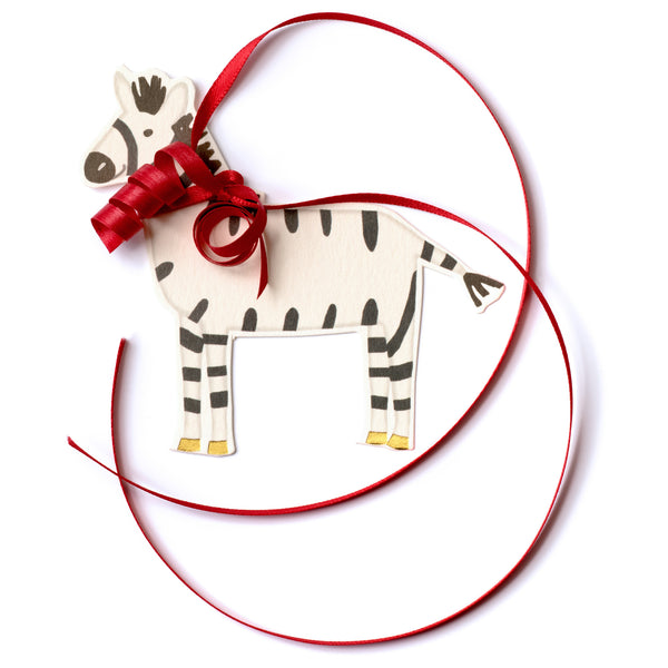 Zebra Pretty Gift Tag-1