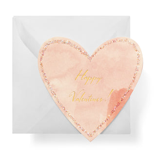 Happy Valentine's Heart Gift Enclosure Box