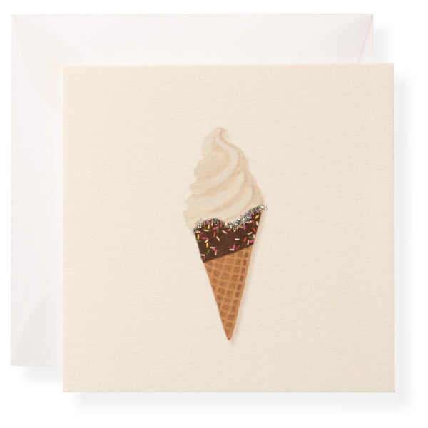 Ice Cream Cone Individual Gift Enclosure-1