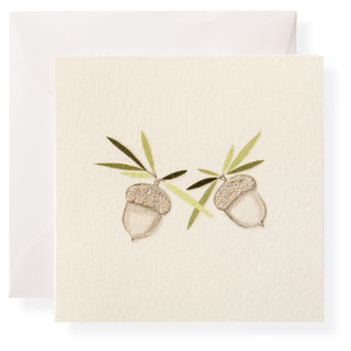 Crystal Acorns Individual Gift Enclosure