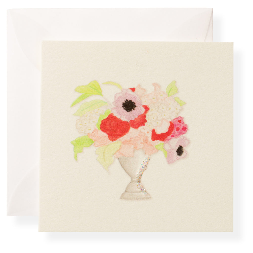 Vase of Flowers Individual Gift Enclosure
