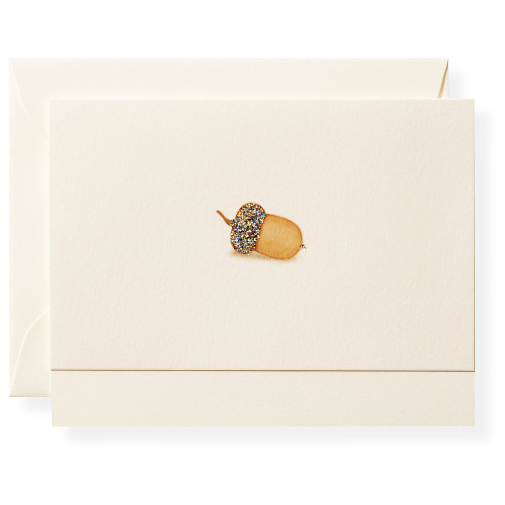 Acorn Individual Note Card