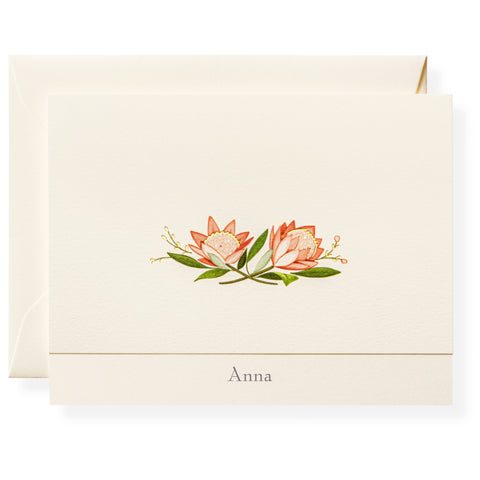 Anna Personalized Note Cards
