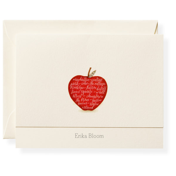 Apple Personalized Note Cards-1