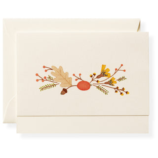 Autumn Flora Individual Note Card