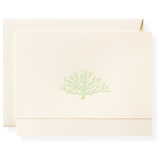 Blue Coral Individual Note Card