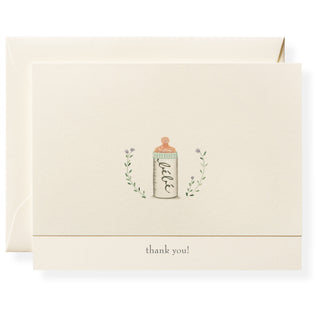 Bottle Personalized Note Cards
