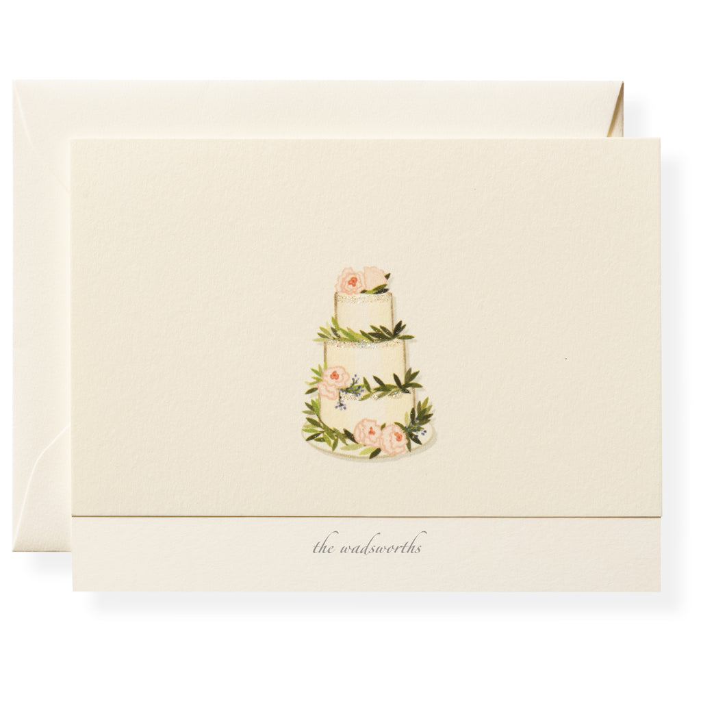 Buttercream Personalized Note Cards