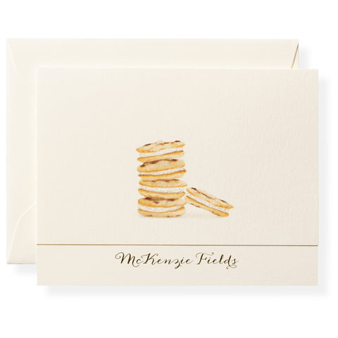Chocolate Chipper Personalized Note Cards