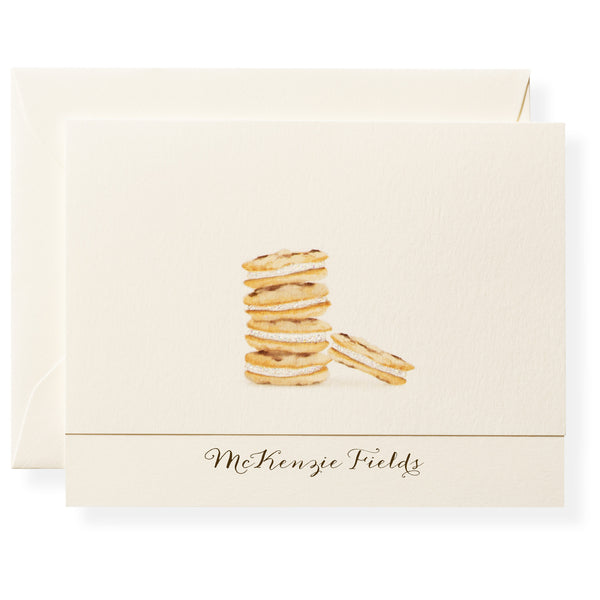 Chocolate Chipper Personalized Note Cards-1