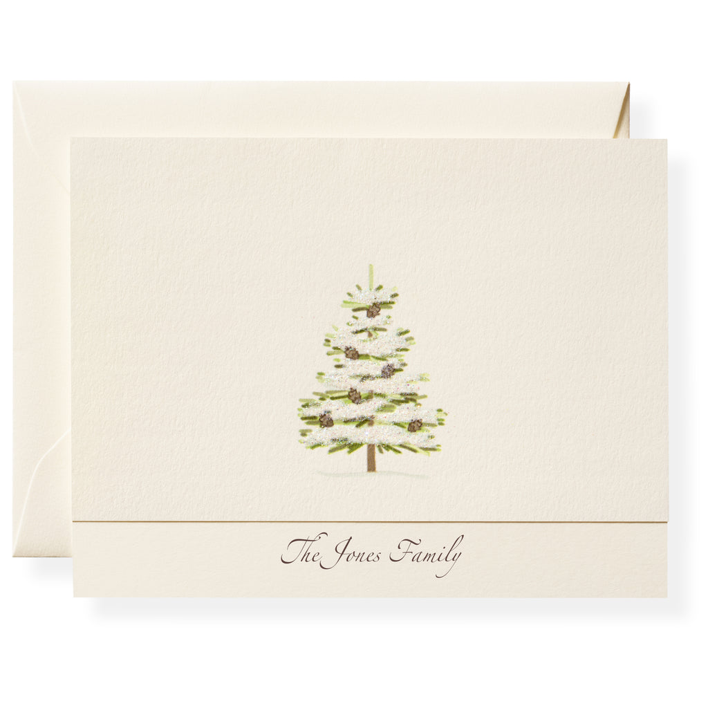 Cedar Personalized Note Cards