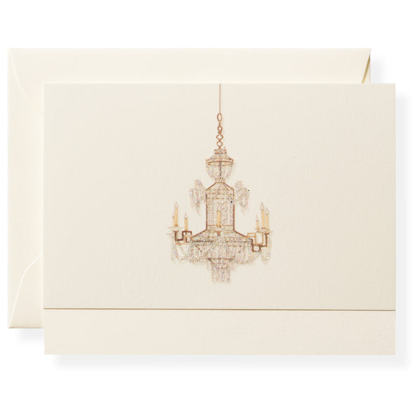 Chandelier Individual Note Card-1