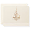 Chandelier Individual Note Card