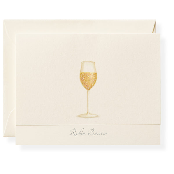 Chardonnay Personalized Note Cards-1
