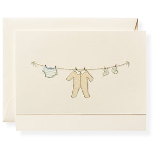 Clothesline Individual Note Card