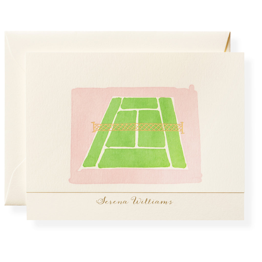 Court Personalized Note Cards
