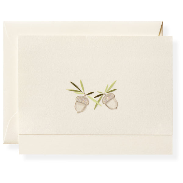 Winter Green Note Card Box-2