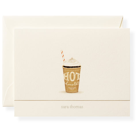 Serendipity Personalized Note Cards