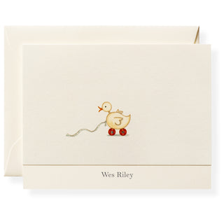 Ducky Personalized Note Cards