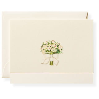 Flower Toss Individual Note Card