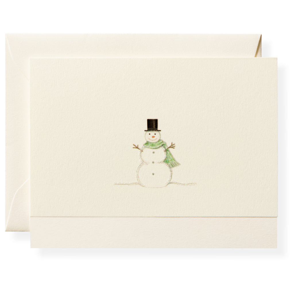 Frosty Individual Note Card