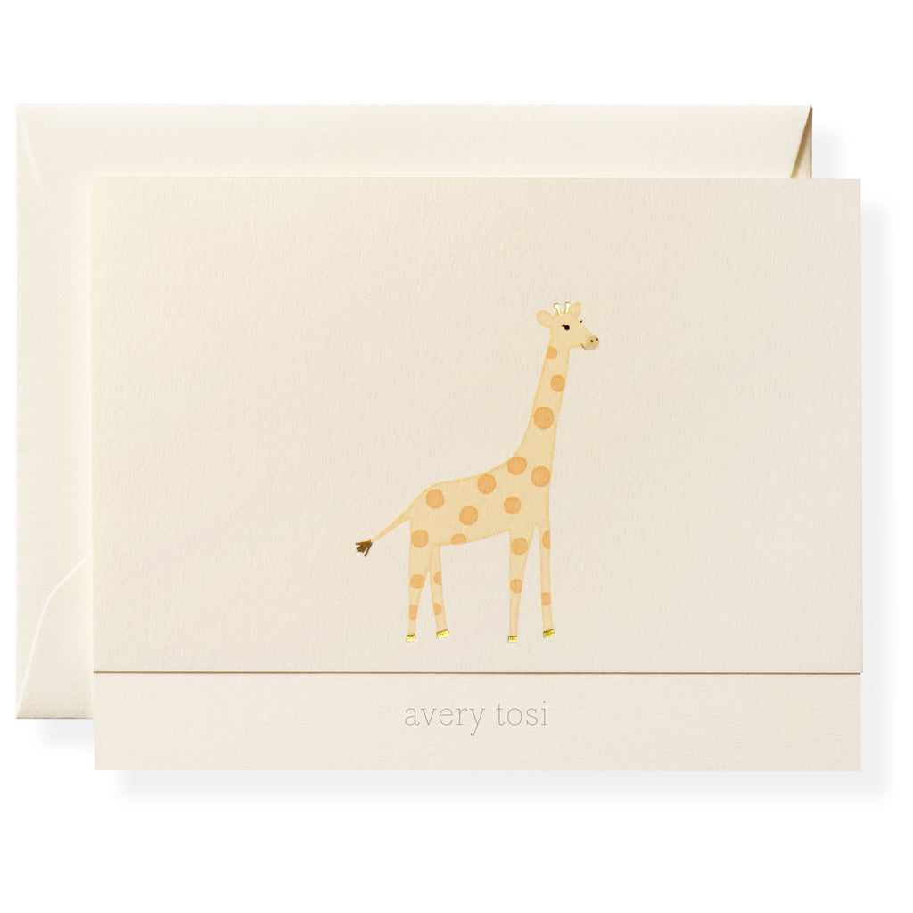 Geoffrey Personalized Note Cards