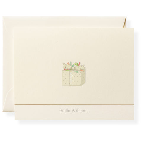 Good Tidings Personalized Note Cards