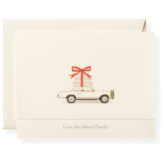 Holiday Delivery Personalized Note Cards