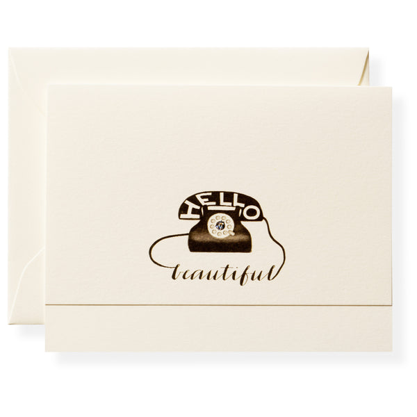 Hello Individual Note Card