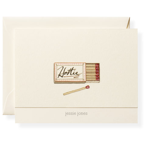 Hottie Personalized Note Cards
