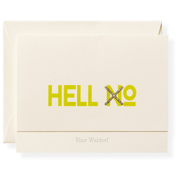Hell XO Personalized Note Cards-1