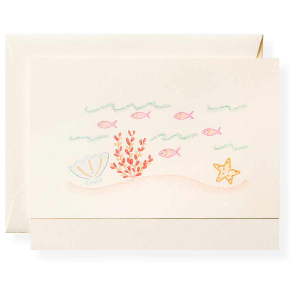 Just Keep Swimming Individual Note Card