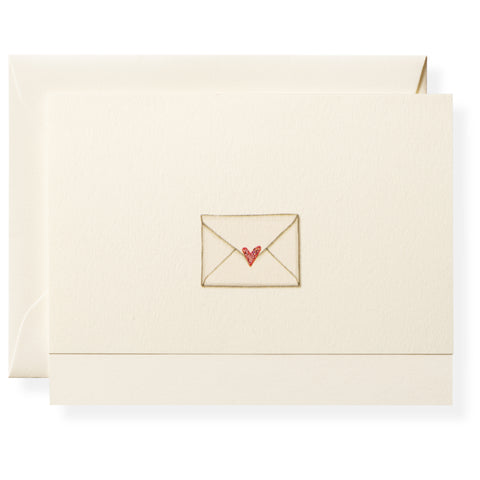Love Letter Individual Note Card