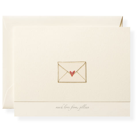 Love Letter Personalized Note Cards