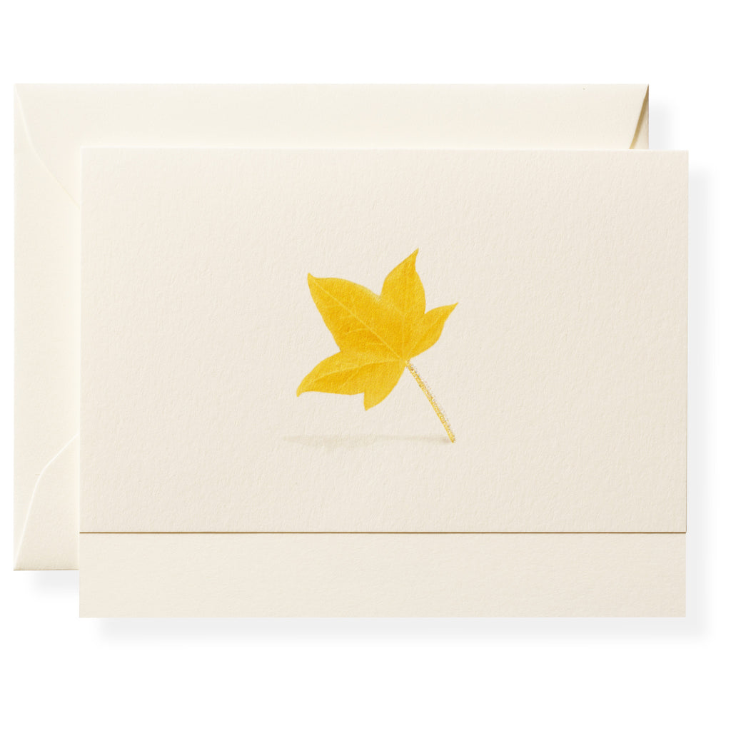 Maple Individual Note Card