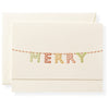 Merry Marquee Individual Note Card