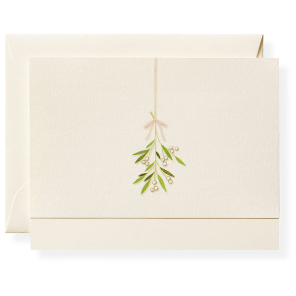 Mistletoe Individual Note Card