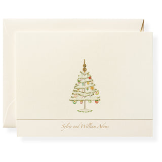 Oh Christmas Tree Personalized Note Cards