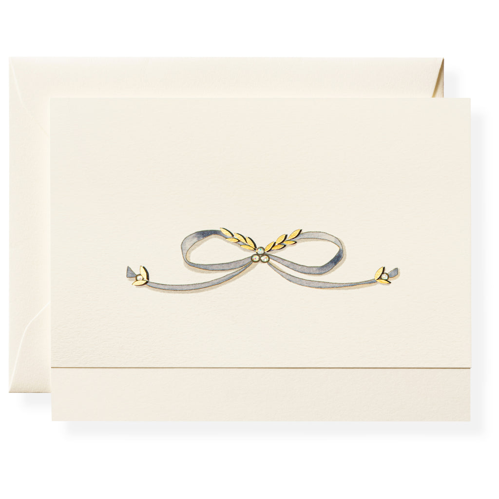 Pretty Bow Individual Note Card