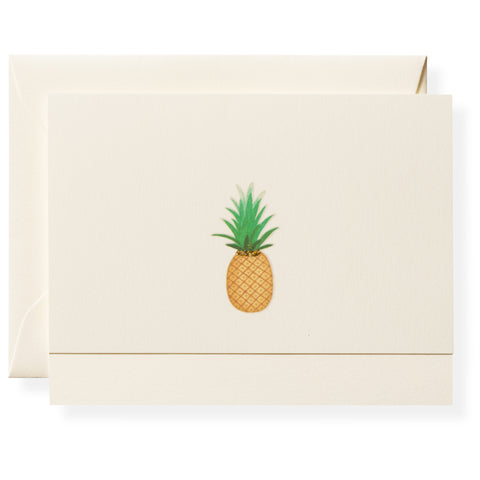 Pineapple Individual Note Card