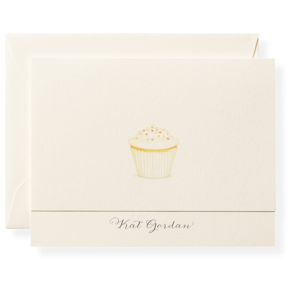 Plain Jane Personalized Note Cards