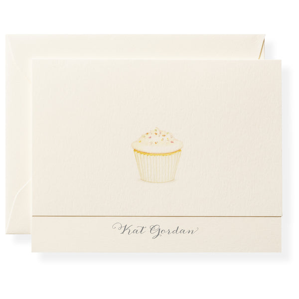 Plain Jane Personalized Note Cards-1