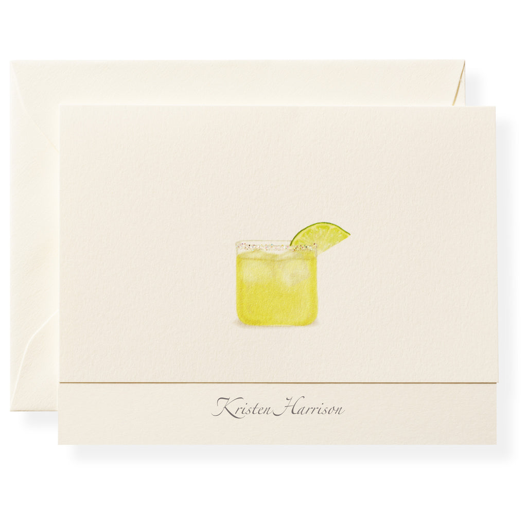 Margarita Personalized Note Cards