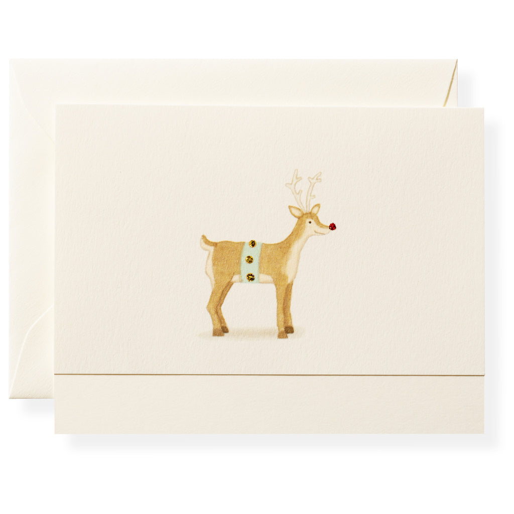 Rudolph Individual Note Card