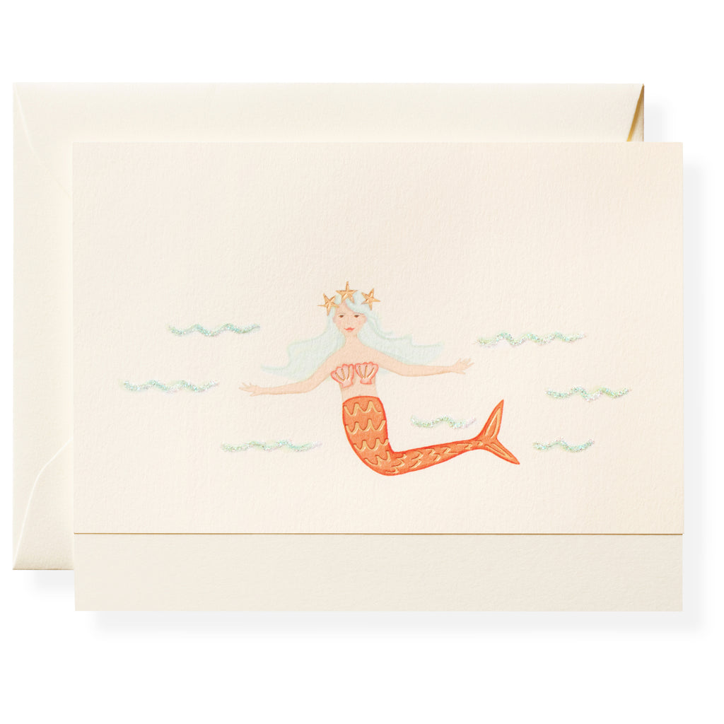 Sugar Beach Mermaid Individual Note Card
