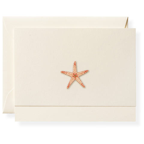 Sea Star Individual Note Card