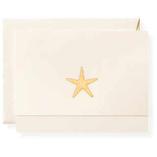 Starfish Individual Note Card
